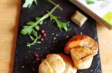 Noix de saint-jacques poireau recette