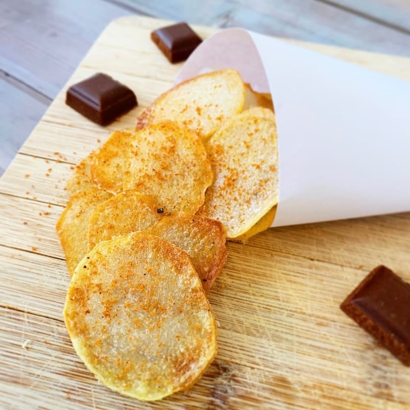 chips tomate carres futes recette