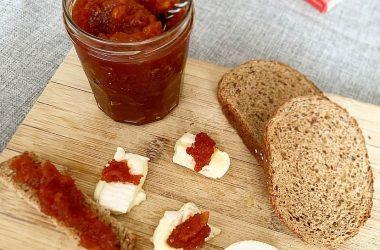 Confiture à la tomate poivron pomme recette