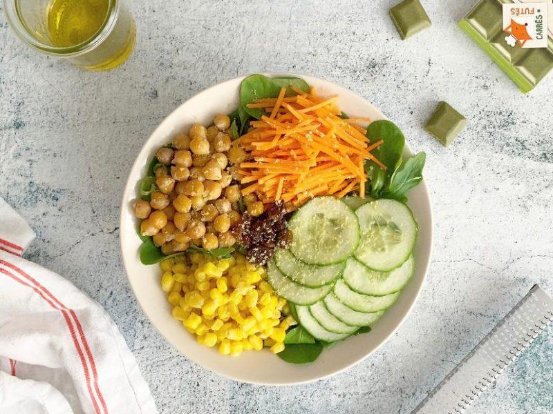 salade bowl vegan recette