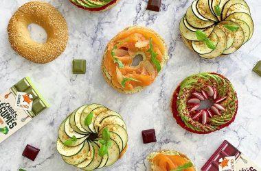 Bagels aux légumes recette