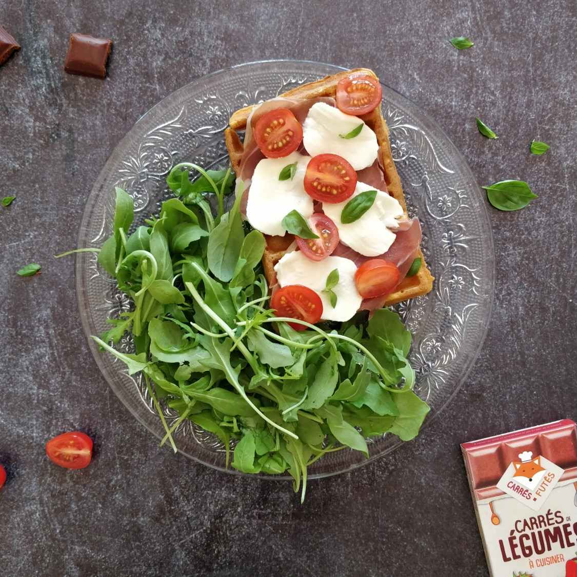 Gaufre tomate recette