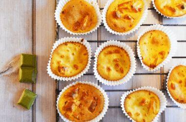 Muffins chèvre poireau recette