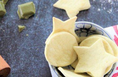 Sablés apéro au poireau recette
