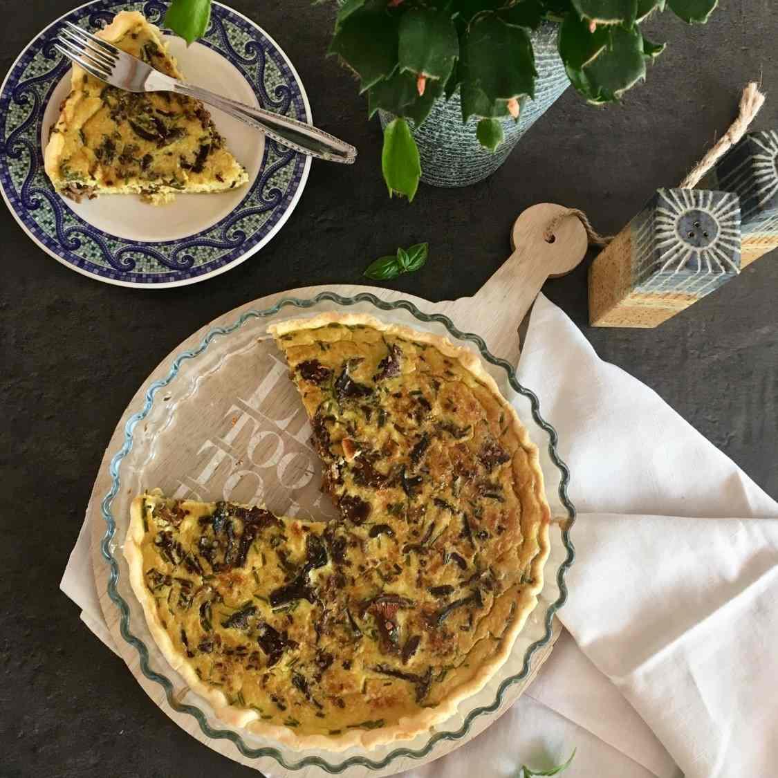 tarte-girolle-poireau-carres-futes-recette
