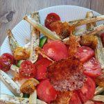 tuile tomate parmesan recette