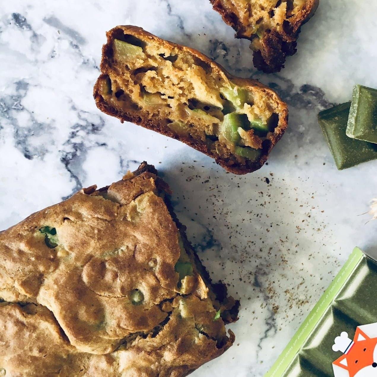 Cake vegan aux courgettes recette