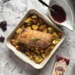 Roti de canard sauce betterave recette