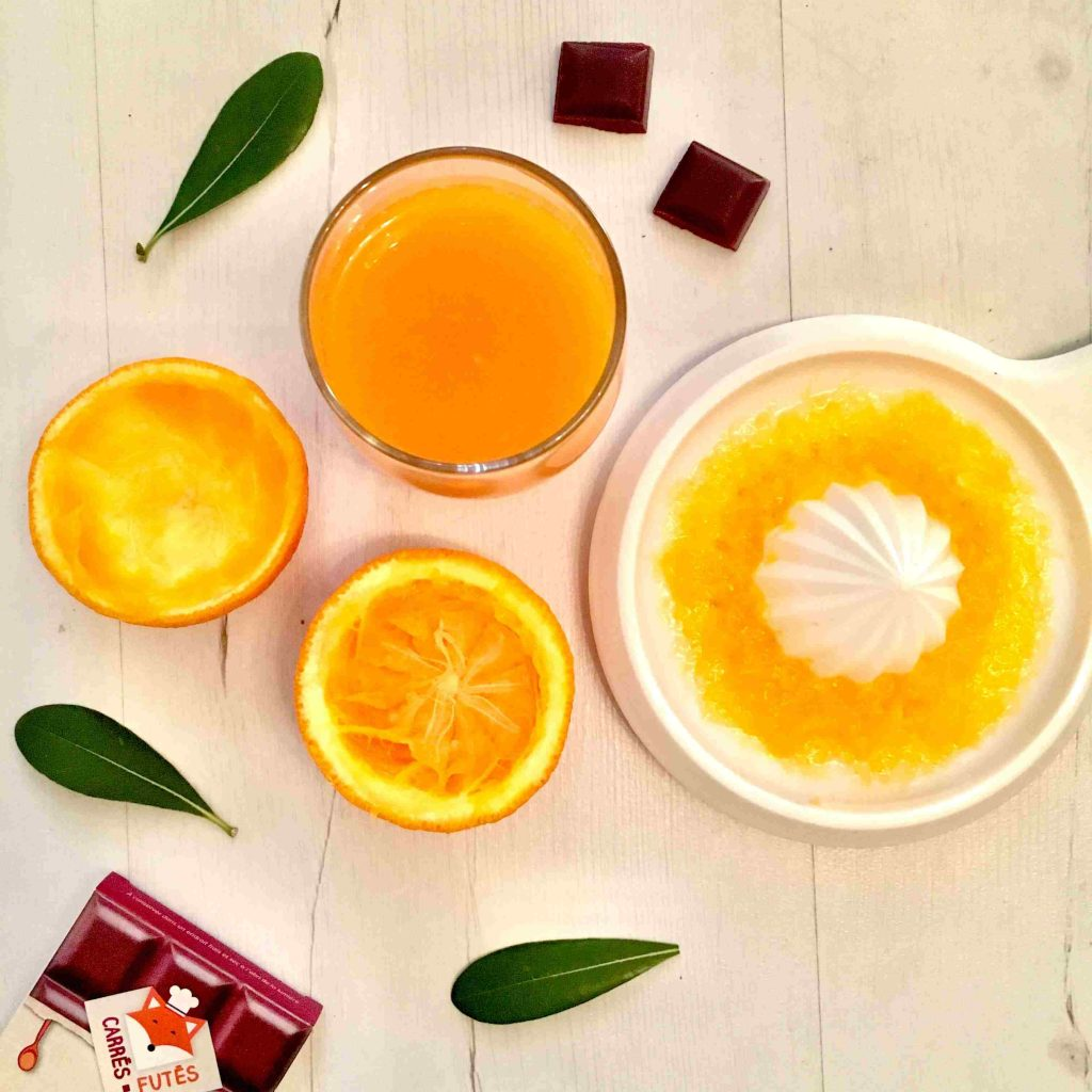 Jus d'orange carotte betterave recette