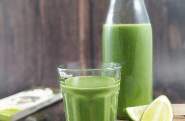 Smoothie vert détox recette