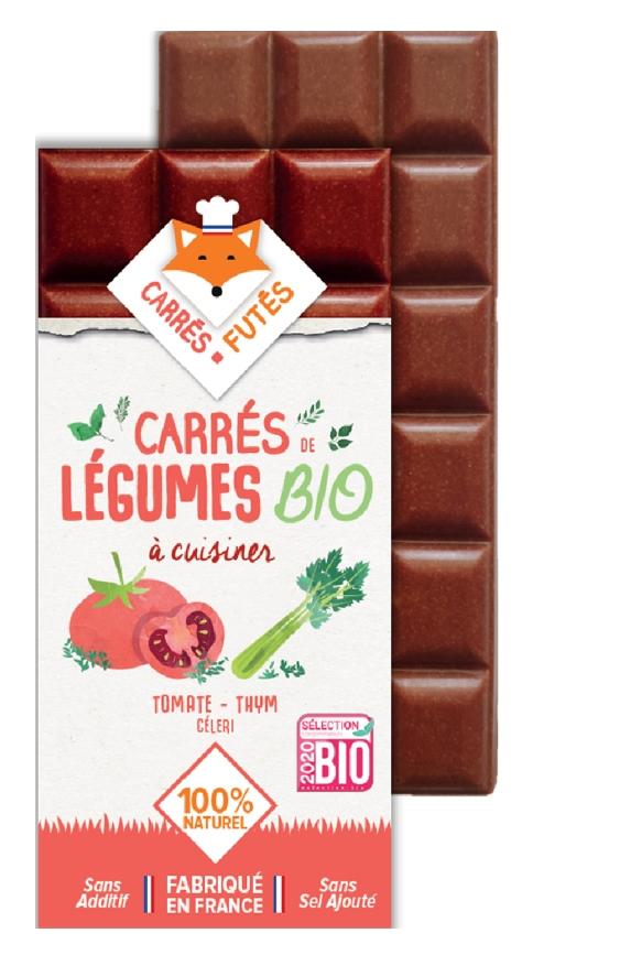 Tablette Carrés Futés Bio Tomate Thym Céleri