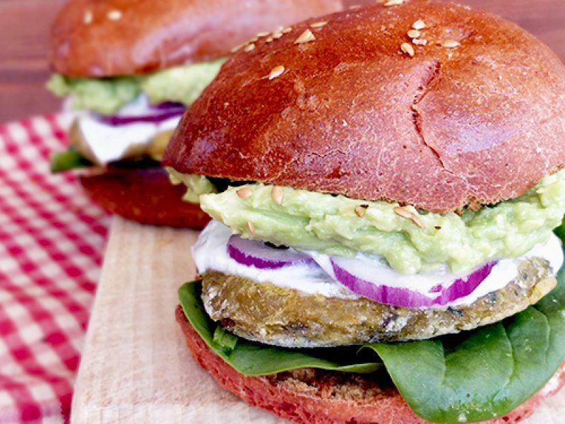 Burgers veggie recette