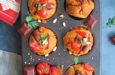 Muffins tomate poivron recette