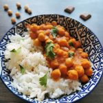 Curry de pois chiches recette