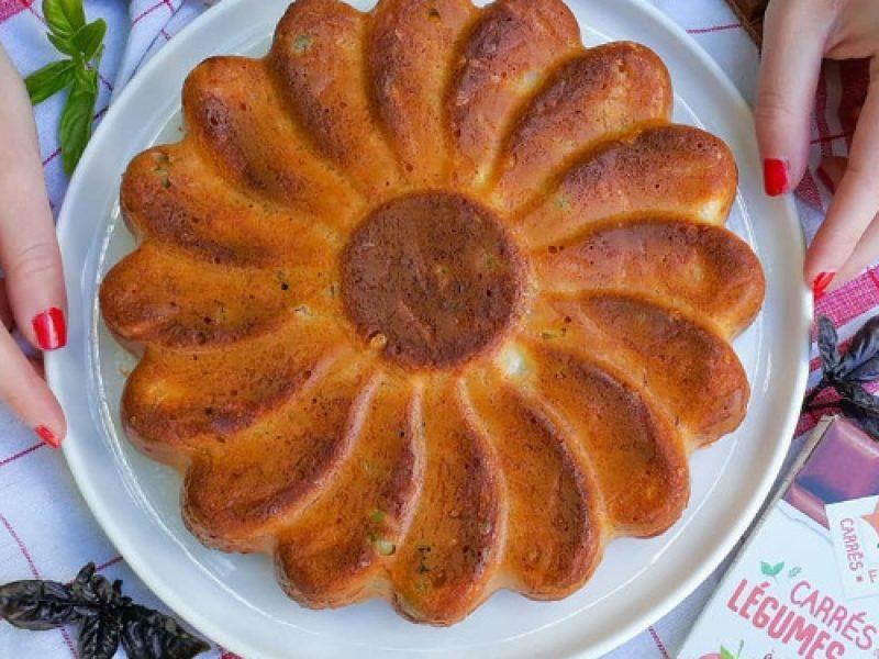 Cake tomate, olives et chèvre recette