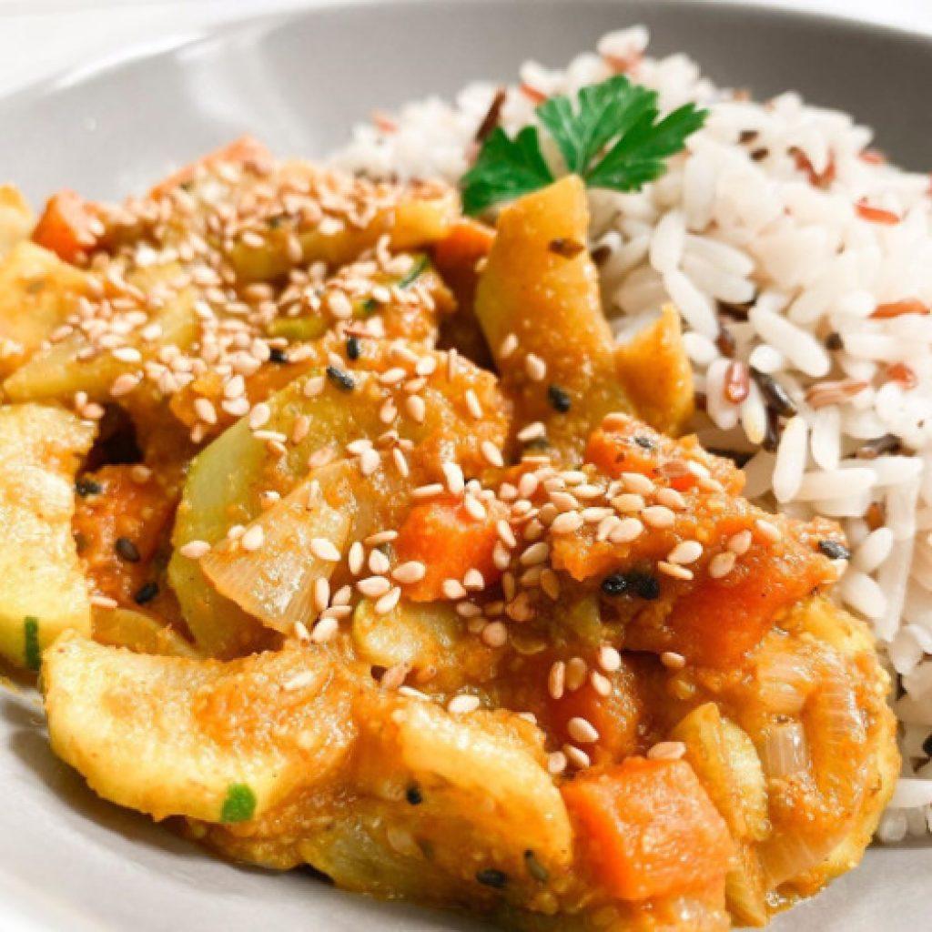 Curry de légumes recette