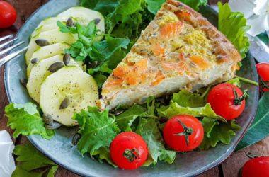 Quiche chou-fleur truite recette