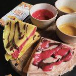 Crêpes futées aux fruits recette