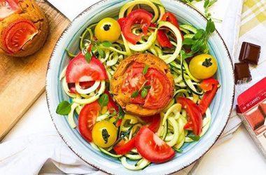 Spaghettis de courgette recette