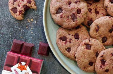 Cookies Fraise Framboise Recette