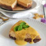 Cheesecake Mangue recette