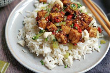 Tofu citronnelle recette