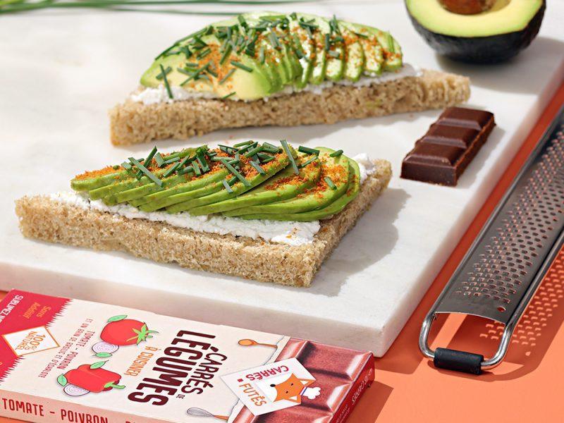 Avocado toast recette