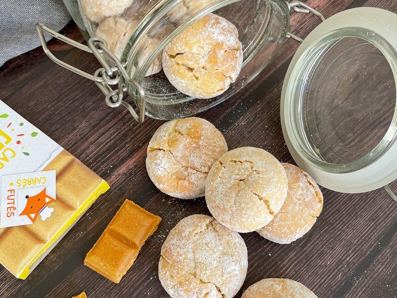 Biscuits craquelés citron recette