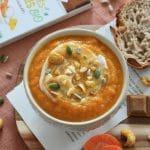 Velouté carotte curry recette