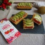 Tartelette fraise framboise kiwi recette