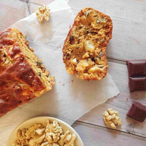 Cake betterave chèvre noix au paprika recette