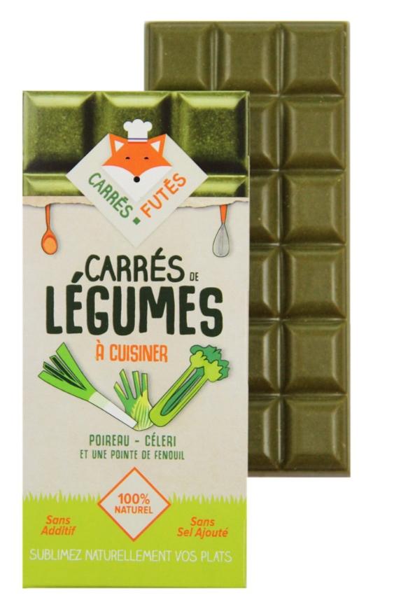 Carrés Futés Poireau Céleri Fenouil