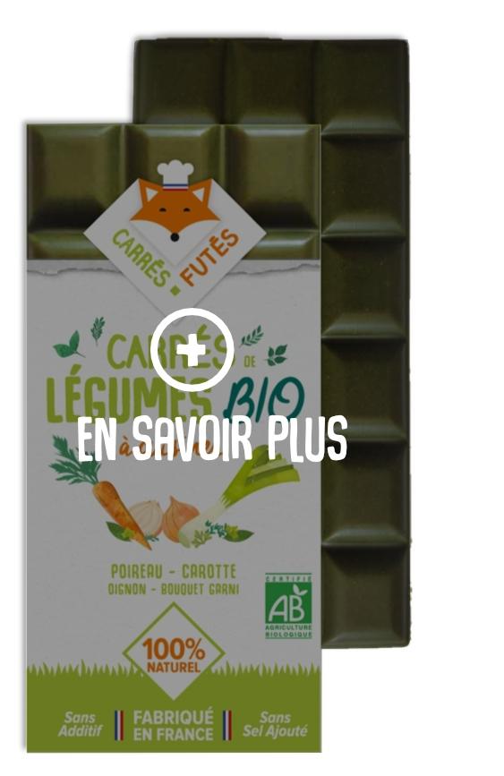 En savoir plus Carrés Futés Poireau Oignon Bouquet garni