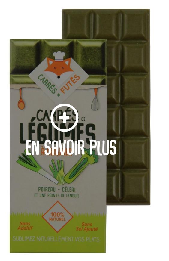 En savoir plus Carrés Futés Poireau Céleri Fenouil