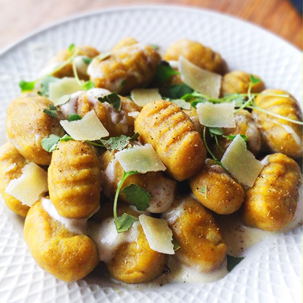 Gnocchis curry recette