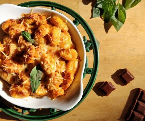 gratin-de-gnocchi-tomate-carres-futes-recette