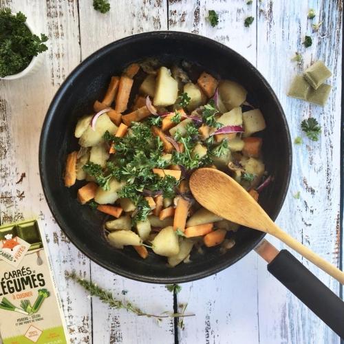 poêlée de légumes recette