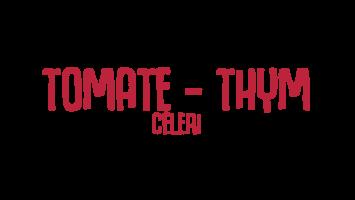 tomate thym céleri