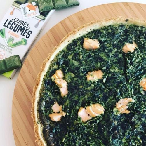 Tarte épinards saumon recette